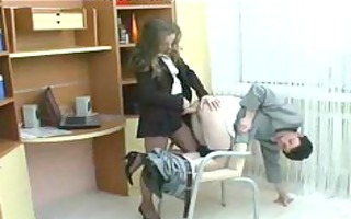 leilafemdom ding-dong russian cumshots swallow