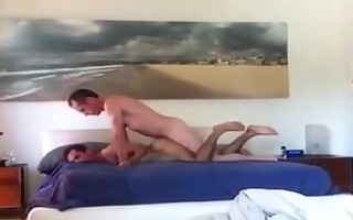 drilled bareback by dad