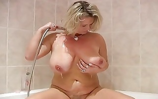 your mother in the shower