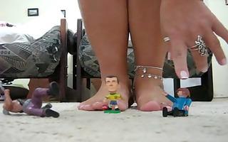 ff62 marvelous toes mel