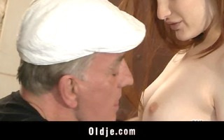 lascivious oldmen bangs hard youthful sluts in