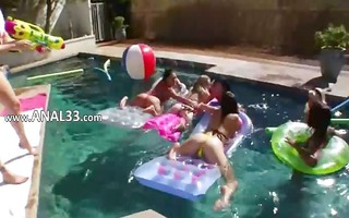 flawless group bottom sex outdoors