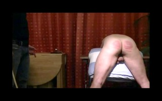 caning mm: active guy disciplines dad