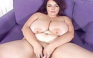 large breasted mother i sweetheart masturbates on