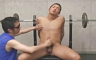 i discovered this japanese boy at the gym