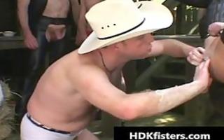homo cowboys in super extraordinary gay fisting