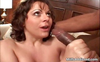 lusty mother i acquires double drilled as