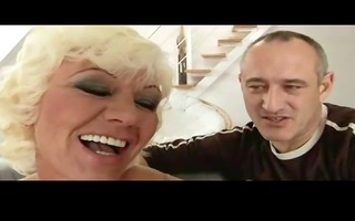 hairy granny with female pornstar by troc