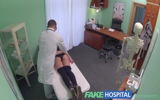 fakehospital hot 116s gymnast tempted by doctor