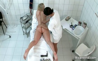 nasty and hawt doctor receives her bawdy cleft