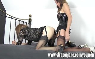 ding-dong jane fucking crossdresser hard with