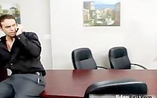 sexy milf fuck hard at office