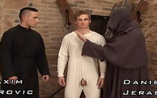 mad monk flogging youthful sinner