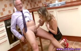 mature boy younger beauty fuck and ejaculation