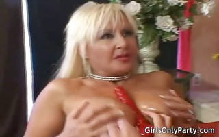 milfs fuck themselves with a biggest sex tool