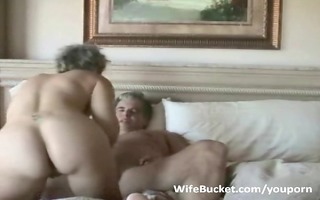 mature pair enjoys home sex