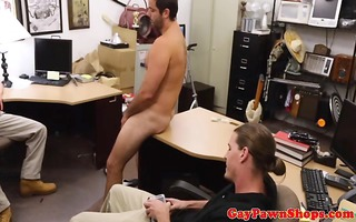 pawnbrokers record fellow stroking dong