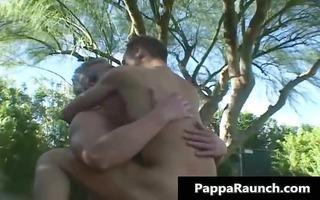 aged homosexual guy receives his hard wang part6