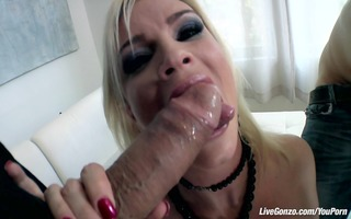 livegonzo diamond foxx sexy aged does three-some