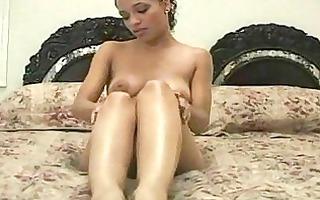 ebon playgirl foot fetish