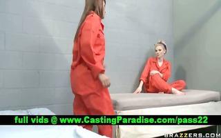 jayme valerie breathtaking lesbian babes in jail