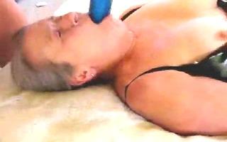 stolen video. dad cumming on face of mamma