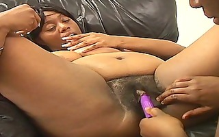 breasty large bra buddies ebon plays around the