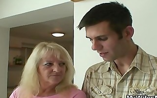 she is fucks son-in-law after pair of drinks