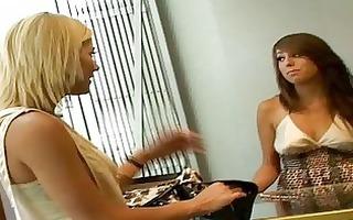 5 beautiful lesbian babes allyssa and hall fuckin
