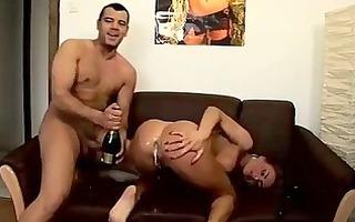 champagne enema squiriting pleasure