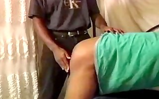 dark and lite skinned spanked