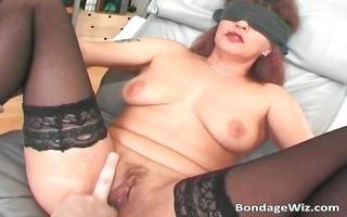 blindfolded aged whore drilled hardly part1