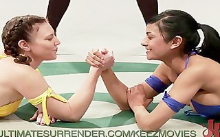 tag team lesbo fight