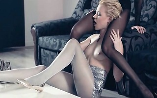 hawt lezzies in pantyhose anew in act