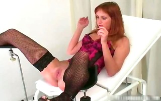 hawt wicked concupiscent redhead chick acquires