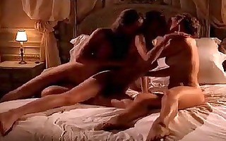 marie allan lesbian three-some sex from the