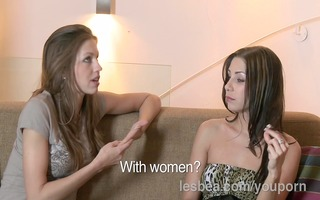 lesbea hd ardent st time sex with experienced