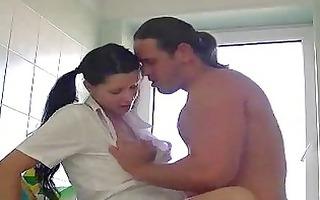 banging a wife on the washing machine