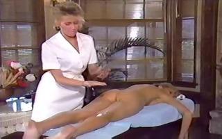 lesbo massage, vintage