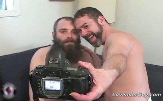 bearded homosexual males are engulfing hard