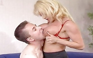 sexy aged blond cougar donna denrico