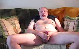 verbal daddy strokes and cums