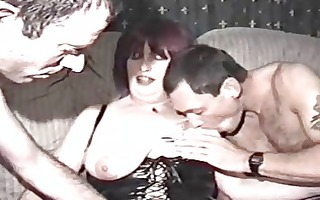 homemade porn with aged woman and dudes