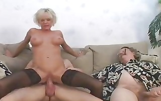 sexy older gives show 9 hubby