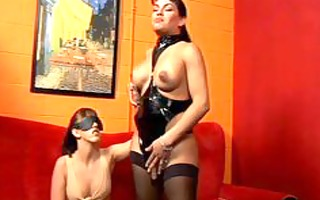 foxxy is a mistress - scene 0 - noose movie scene