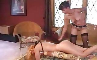 mature lesbo thraldom and thrashing