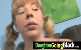 my daughter is drilled hard by my darksome ally