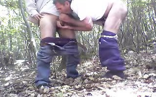 fuck in the wood