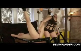 lesbo dominating a daughters a-hole and slit