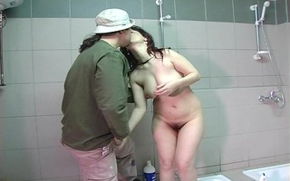 shagging in the shower